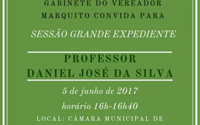 Sessão Grande Expediente com Professor Daniel